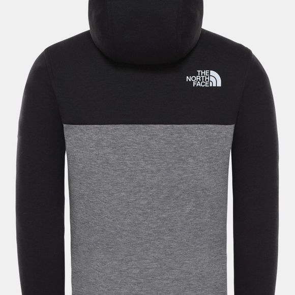 The North Face Boys Slacker Full Zip Hoodie 14+ TNF Black