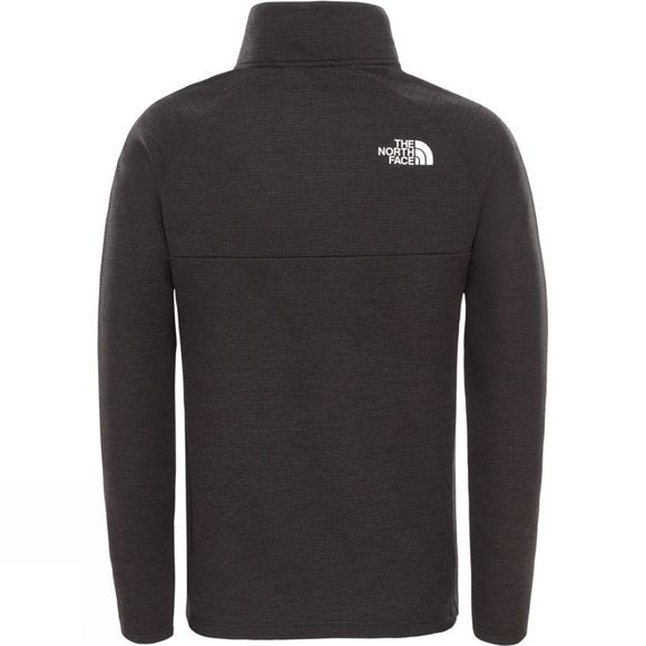 The North Face Boys' Reactor 1/4 Zip Pullover Tnf Black Heather