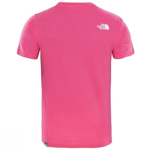 The North Face Easy Tee 14+ Petticoat Pink