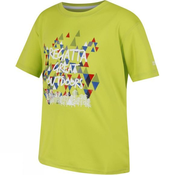 Regatta Kids Alvarado III T-Shirt Lime Zest