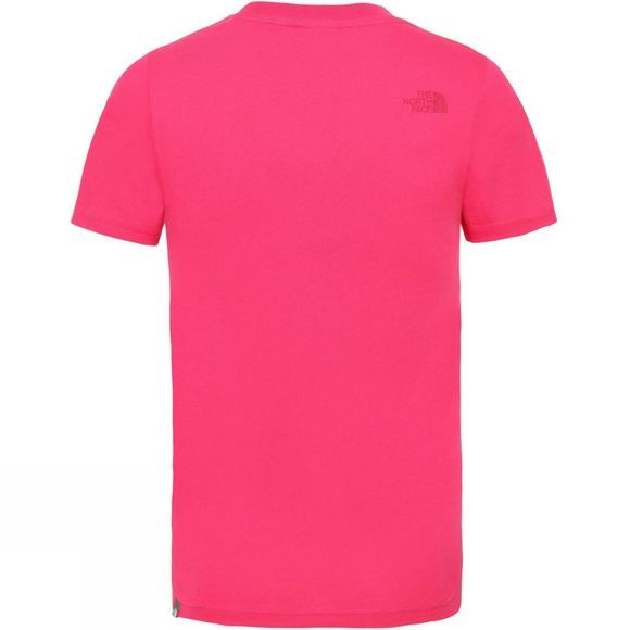 The North Face YOUTH BOX SS TEE Cabaret Pink