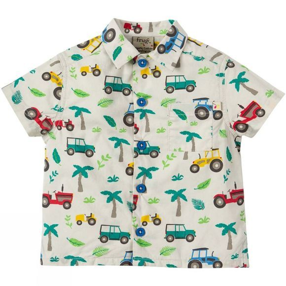 Frugi Childrens Hawaiian Shirt Tropical Tresco SS19