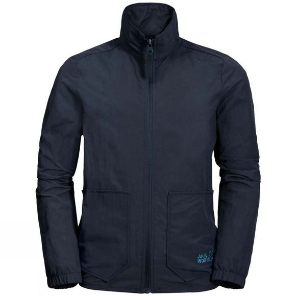 Jack Wolfskin Boys Lakeside Jacket Night Blue