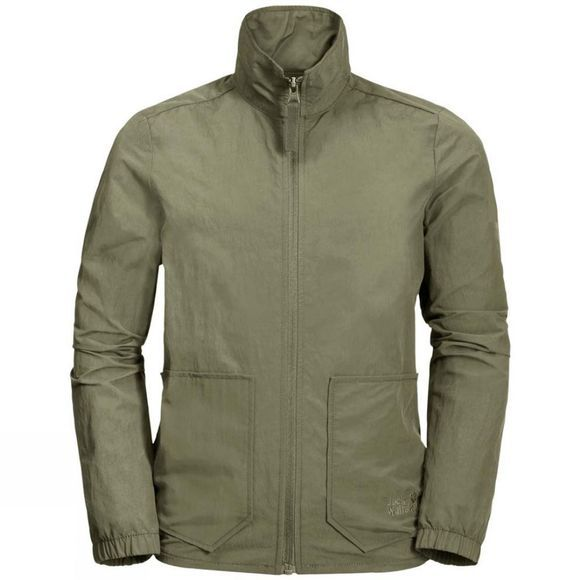 Jack Wolfskin Boys Lakeside Jacket Khaki