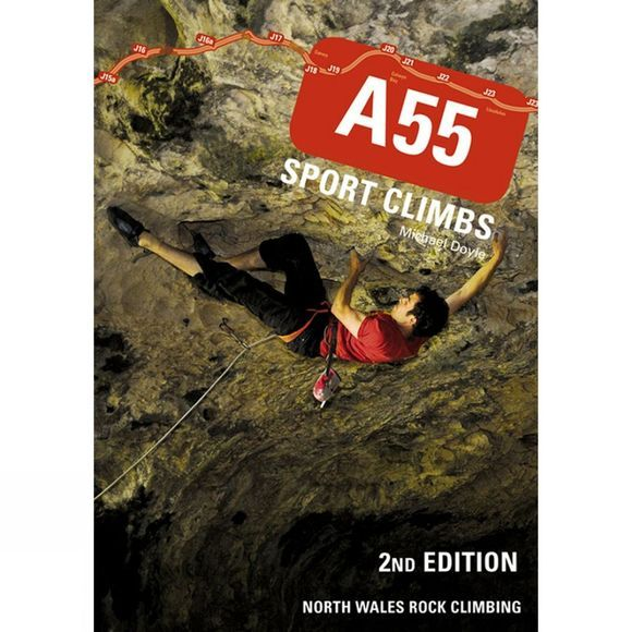 Pesda Press A55 Sport Climbs: North Wales Rock Climbing No Colour