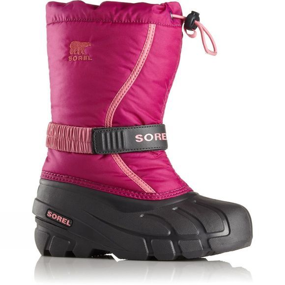 Sorel Youth Flurry Age 14+ Deep Blush/ Tropic Pink