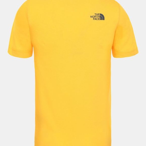 The North Face Youth Easy Tee Age 14+ Tnf Yellow