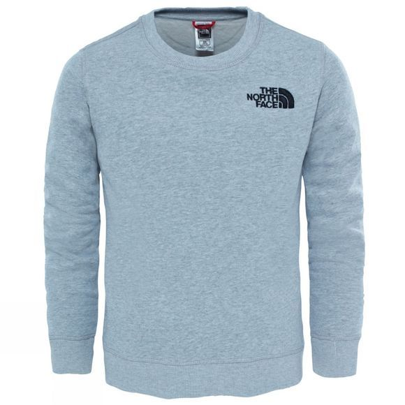 The North Face Youth Drew Peak Crew  TNF Light Grey Heather