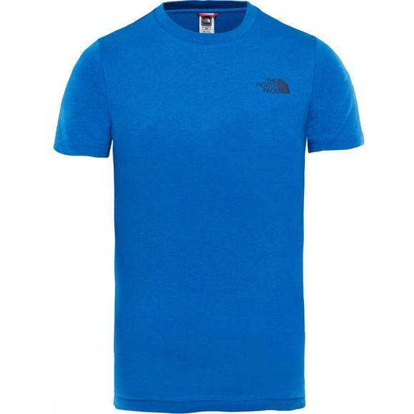 The North Face Youths Simple Dome T-Shirt Ages 14+ Turkish Sea