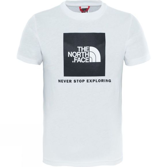 The North Face YOUTH BOX SS TEE TNF White
