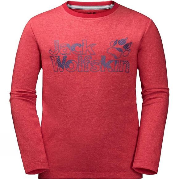 Boys Long Sleeve Brand Tee 14+