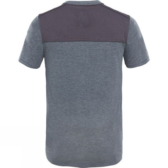 The North Face Boys Reactor T-Shirt TNF Medium Grey Heather