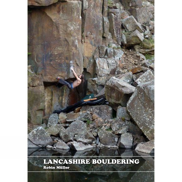 Cottongrass Books Lancashire Bouldering 1st Edition, Oct 2014