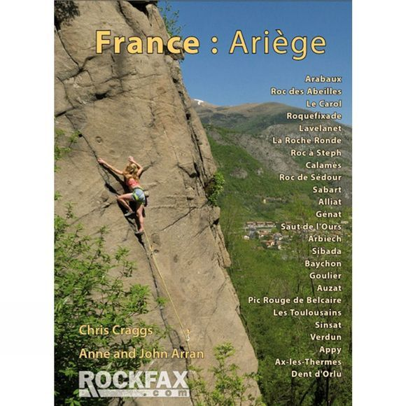 Rockfax France: Ariege: Rockfax Guide No Colour