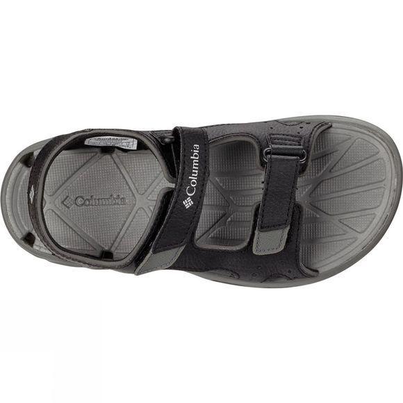 Columbia Youths Techsun Vent Sandal Age 14+ Black / Columbia Grey
