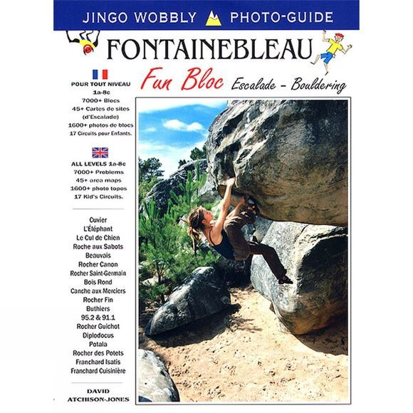 Vision Poster Co Fontainebleau Fun Bloc: Escalade-Bouldering No Colour