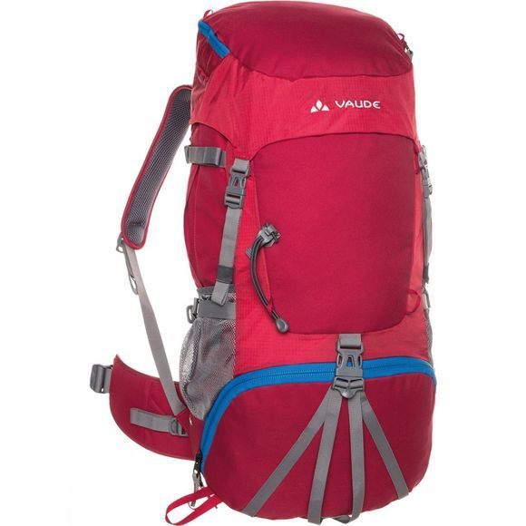 Vaude Hidalgo 42+8 Rucksack Indian Red
