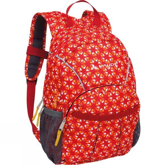 Vaude Kids Minnie 4.5 Rucksack Red / Mandarine Print