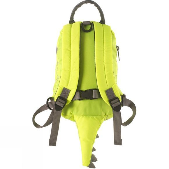LittleLife Toddlers Butterfly Hi-Vis Rucksack Bright Yellow