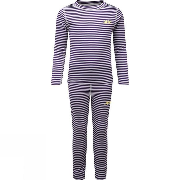 Kids Vasa Stripe Base Layer Set