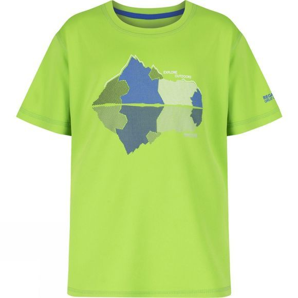 Regatta Kids Alvarado II T-Shirt Green Flash