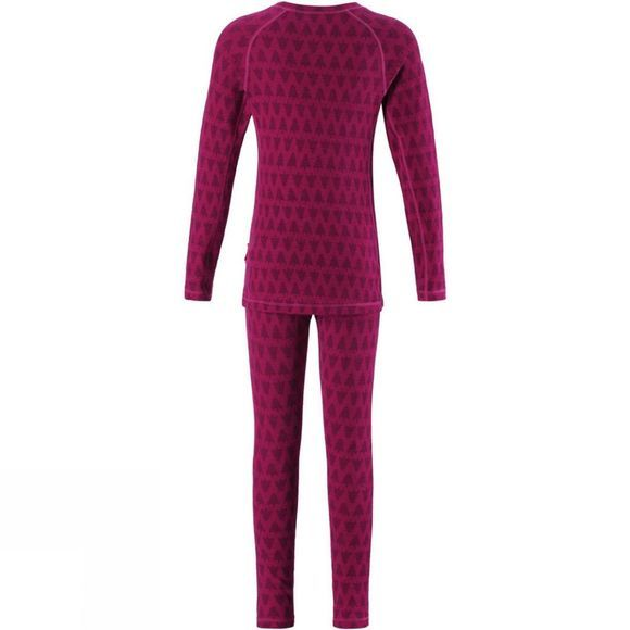 Reima Childern's Taival Thermal Set Cranberry pink