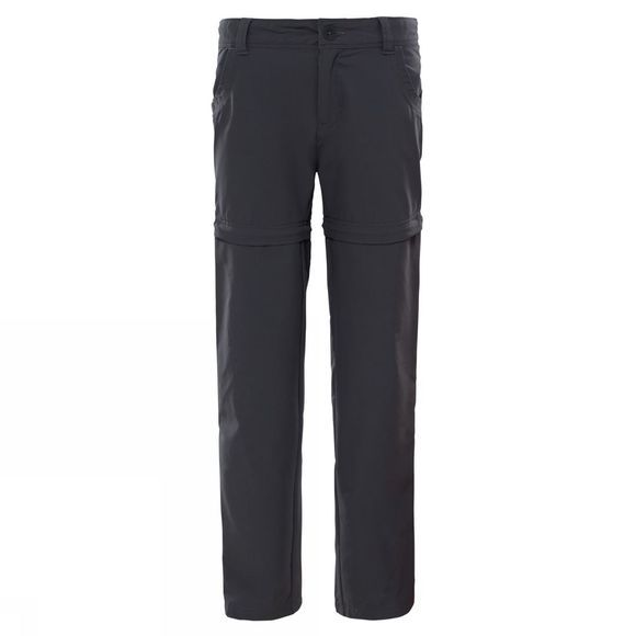 The North Face Boys Exploration Pants Age 14+ TNF Black