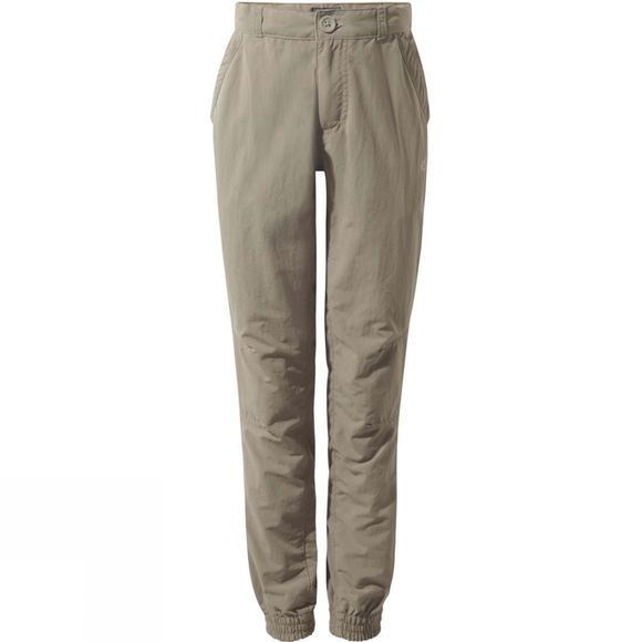 Craghoppers Boys NosiLife Terrigal Trousers Pebble