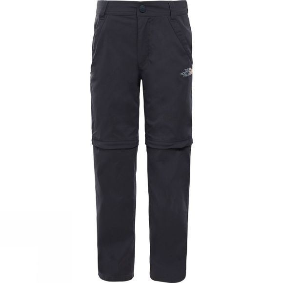 The North Face Boys Convertible Hike Trousers Asphalt Grey