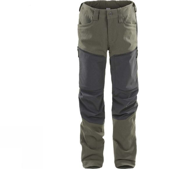 Haglofs Junior Ruged Mountain Pant Deep Woods/True Blac