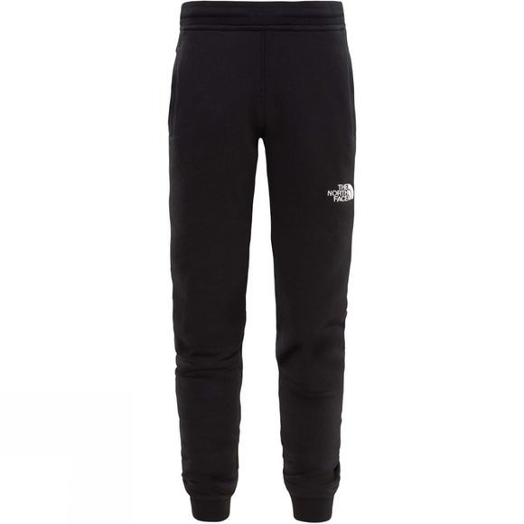 The North Face Youth Fleece Pant  TNF Black/TNF White