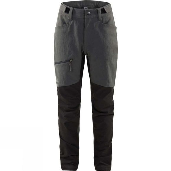 Haglofs Boys Rugged Flex Pant Magnetite / True Black