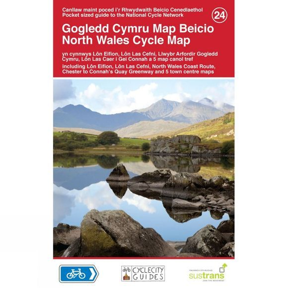 North Wales Cycle Map 24
