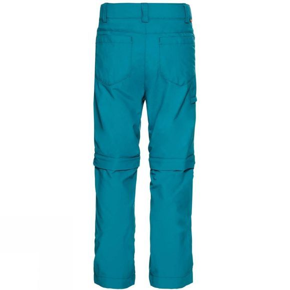 Vaude Boys Detective Zip Off Pants II Alpine Lake