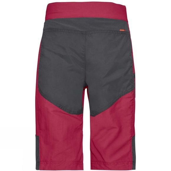 Vaude Boys Caprea Shorts Crimson Red