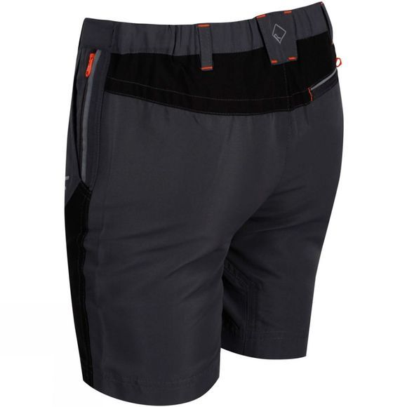 Regatta Kids Sorcer Mountain Shorts Seal Grey/Black