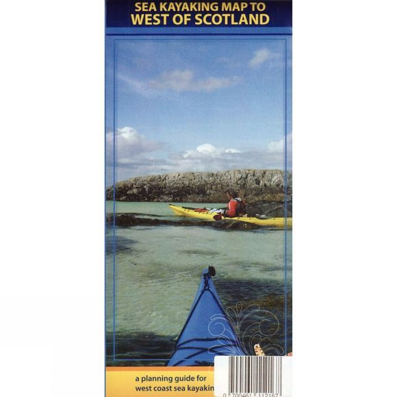 Sea Kayaking Map to West of Scotland