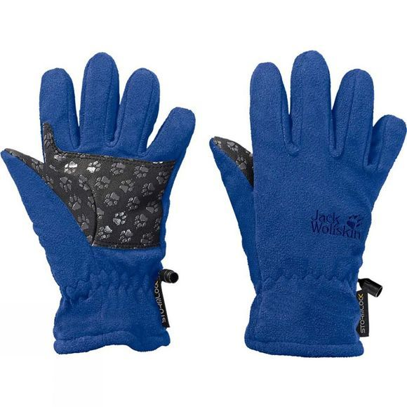 Jack Wolfskin Kids Stormlock Glove Coastal Blue