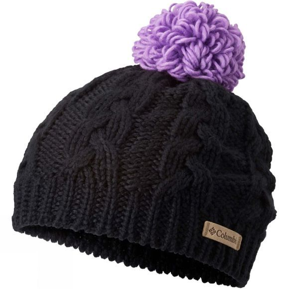 Columbia Childrens In-Bounds Beanie Black / Crown Jewel
