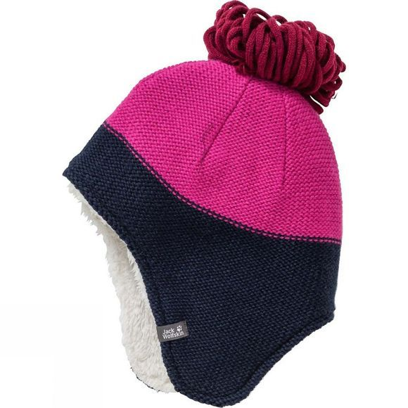 Jack Wolfskin Kids Great Bear Cap Fuchsia