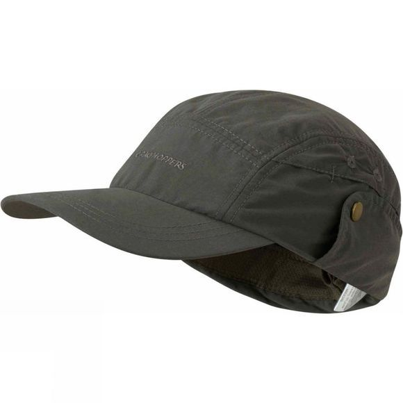 Craghoppers Boys NosiLife Desert Hat Dark Khaki