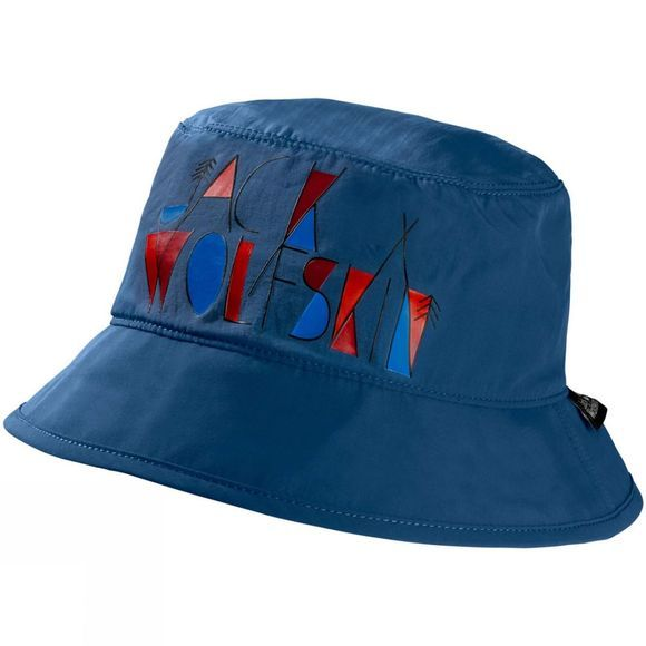 Jack Wolfskin Boys Supplex Magic Forest Hat Ocean Wave