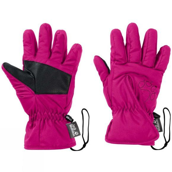 Jack Wolfskin Kids Easy Entry Glove Fuchsia