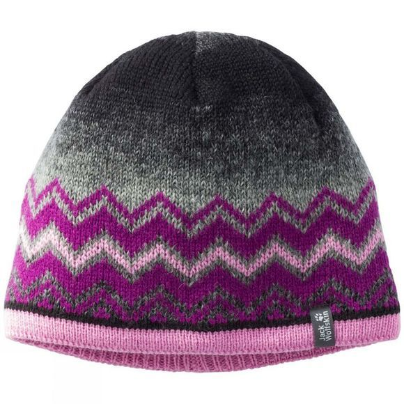 Jack Wolfskin Kids Colorfloat Knit Cap Dark Peony