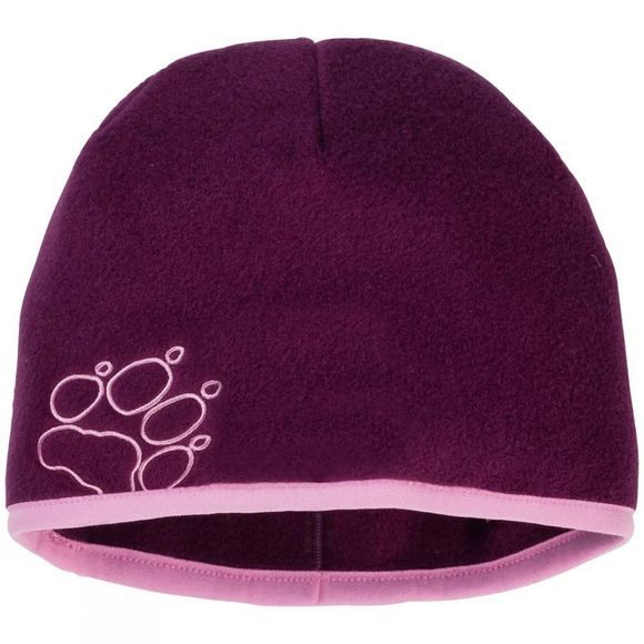 Jack Wolfskin Kids Baksmalla Fleece Hat Dark Orchid