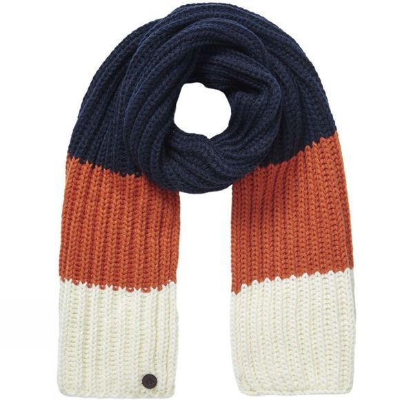 Craghoppers Boys Morgan Scarf Blue Navy Stripe
