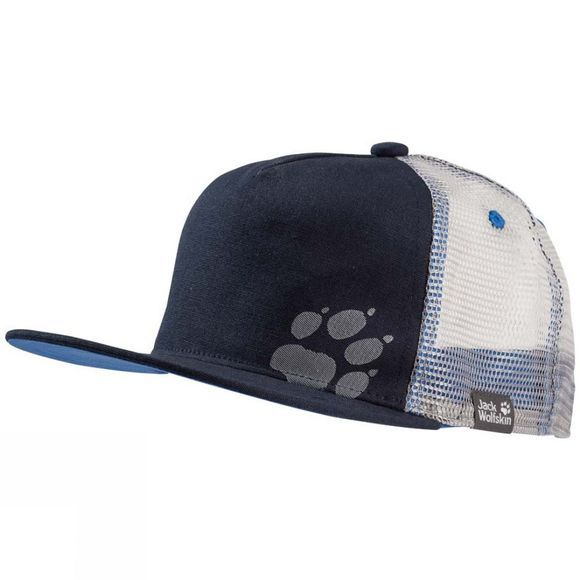 Jack Wolfskin Boys Rib Paw Cap Night Blue