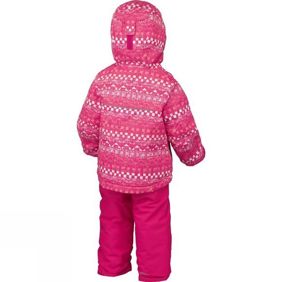 Columbia Toddler Buga Set Punch Pink Fairisle