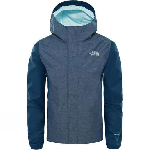 The North Face Children's Resolve Reflective Jacket 2018 Blue Wing Teal Heather