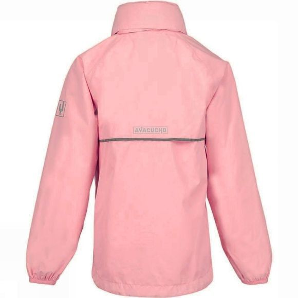 Ayacucho Girls Leelo Packable Jacket  Bright Pink
